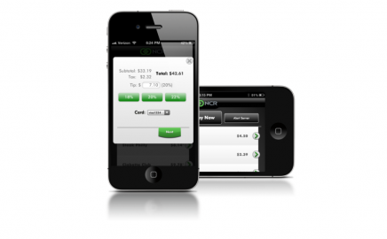 Convenience!  Order & Pay from the Table with NCR Mobile Pay